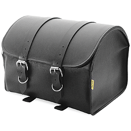 Willie & Max Touring Standard Max Pax Tour Trunk - Willie & Max Ranger Studded Slant Saddlebags