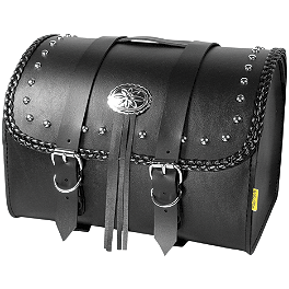 Willie & Max Warrior Max Pax Tour Trunk - Willie & Max Revolution Throwover Saddlebag - Belted