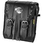 Willie & Max Warrior Sissy Bar Bag - WILLIE-&-MAX Cruiser Luggage and Racks