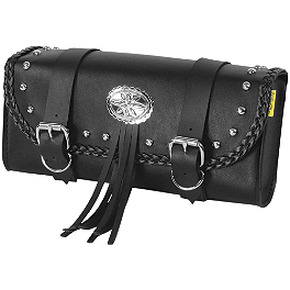 Willie & Max Warrior Tool Pouch - Willie & Max Gray Thunder Studded Tool Pouch