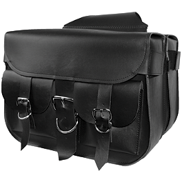 Willie & Max Wild Willie Saddlebags - Willie & Max Condor Slant Saddlebags - Large