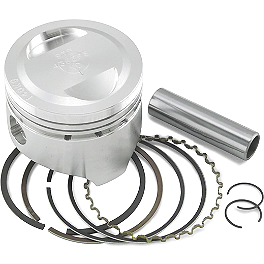 Wiseco 12.5:1 Big Bore Kit - 440cc - 1999 Honda XR400R Wiseco Pro-Lite 4-Stroke Piston - Stock Bore