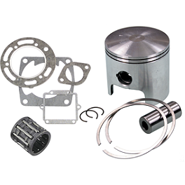 Wiseco Pro-Lite Piston Kit - 2-Stroke - 1988 Honda TRX250R AC Racing MX Peg Nerf Bars - Black
