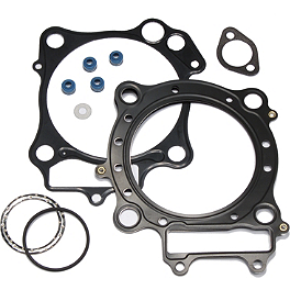 Cometic Top End Gasket Kit - 2010 Kawasaki KX250F Wiseco Pro-Lite 4-Stroke Piston - Stock Bore