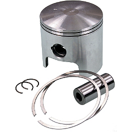 Wiseco Pro-Lite 2-Stroke Piston - Stock Bore - Wiseco Pro-Lite Piston Kit - 2-Stroke