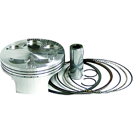 Wiseco Pro-Lite 4-Stroke Piston - 13.5:1 High Compression - 2012 Kawasaki KX450F Wiseco Pro-Lite Piston Kit - 4-Stroke
