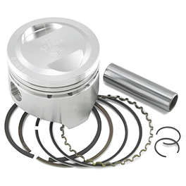 Wiseco Pro-Lite 4-Stroke Piston - Stock Bore - 2009 Yamaha RAPTOR 700 Cometic Top End Gasket Kit