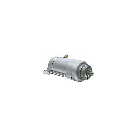 Western Power Sports Starter Motor - Silver - Main