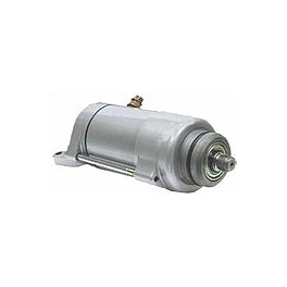 Western Power Sports Starter Motor - Silver - 1982 Suzuki GN125 Western Power Sports Starter Motor - Silver