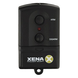 Xena Replacement Remote For XA201 & XA601 Zone Alarms - Xena XA201 Wall Mounted Infrared Zone Alarm