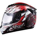 Xpeed XP509 Helmet - Valor - Womens Full Face Motorcycle Helmets