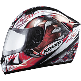 Xpeed XF708 Helmet - Eclipse - Xpeed XF708 Helmet - Spine