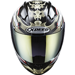 Xpeed XF708 Helmet - Spine - Xpeed XF708 Helmet - Eclipse