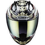 Xpeed XF708 Helmet - Spine - Xpeed Helmets Full Face Motorcycle Helmets