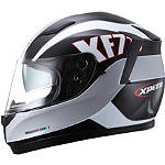 Xpeed XF710 Helmet - Trophy - Womens Xpeed Helmets Full Face Motorcycle Helmets