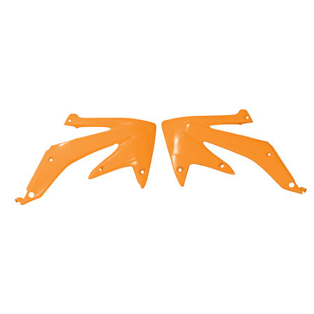 UFO Radiator Shrouds - Orange - Main