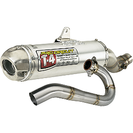 Pro Circuit T-4 Complete Exhaust System - 2002 Polaris SCRAMBLER 500 4X4 FMF Powercore 4 Slip-On Exhaust - 4-Stroke