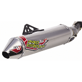 Pro Circuit Ti-4R Replacement Silencer Canister - Pro Circuit Ti-4R / GP Midpipe