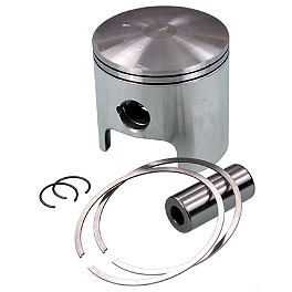 "Wiseco Pro-Lite 2-Stroke Piston - .080"" Oversize - 1986 Yamaha YZ490 Cometic Top End Gasket Kit"