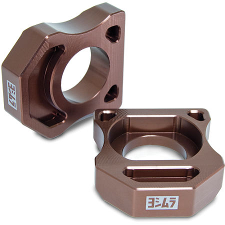 Yoshimura Axle Adjuster Blocks - Main