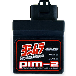 Yoshimura EMS PIM-2 Unit - 2009 Suzuki LTZ400 Yoshimura Low Volume Insert For RS-4 Exhaust