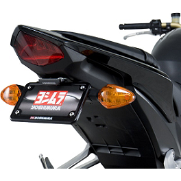 Yoshimura Fender Eliminator Kit With Turn Signal Brackets - 2011 Honda CB1000R Yoshimura RS-5 Slip-On Exhaust - Stainless Steel