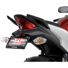 Yoshimura Fender Eliminator Kit With Turn Signal Brackets - 2011 Honda CBR250R Hotbodies Racing ABS License Plate Tag Bracket