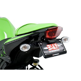 Yoshimura Fender Eliminator Kit With Turn Signal Brackets - 2011 Kawasaki EX250 - Ninja 250 Yoshimura TRC Slip-On Exhaust - Carbon Fiber