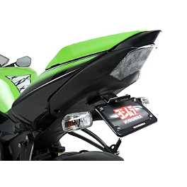 Yoshimura Fender Eliminator Kit With Turn Signal Brackets - 2010 Kawasaki ZX1000 - Ninja ZX-10R Yoshimura R-55 Slip-On Exhaust - Stainless Steel