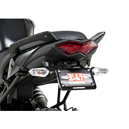 Yoshimura Fender Eliminator Kit With Turn Signal Brackets - 2011 Kawasaki KLE650 - Versys Yoshimura TRC Slip-On Exhaust - Stainless Steel