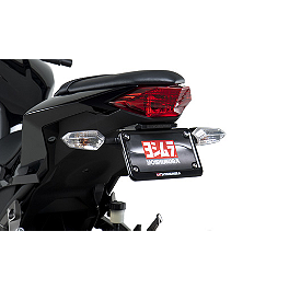 Yoshimura Fender Eliminator Kit With Turn Signal Brackets - Hotbodies Racing ABS License Plate Tag Bracket