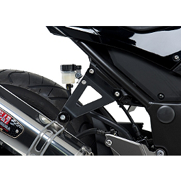 Yoshimura Muffler Bracket Kit - Yoshimura TRC Slip-On Exhaust - Stainless Steel With Carbon Fiber End Cap