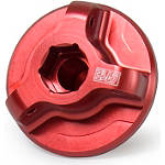 Yoshimura Oil Filler Plug - Red