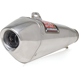 Yoshimura R-55 Full System Exhaust - Stainless Steel - 2006 Suzuki GSX-R 600 Yoshimura R-55 Slip-On Exhaust - Stainless Steel