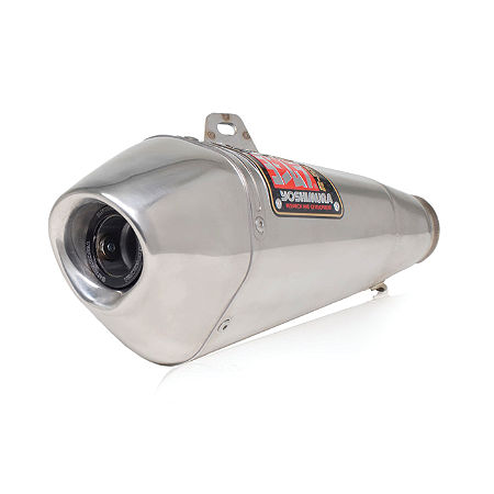 Yoshimura R-55 Slip-On Exhaust - Stainless Steel - Main