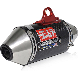 Yoshimura RS-2 Comp Series Full System Exhaust - Stainless/Carbon Fiber - BBR D2 Big Bore Exhaust System - Silver