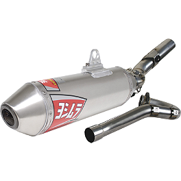 Yoshimura RS-2 Comp Series Full System Exhaust - 2005 Suzuki RMZ450 DR.D Stainless Full System Exhaust With Carbon Can