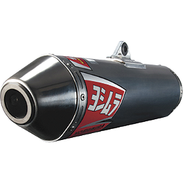 Yoshimura RS-2 Comp Series Slip-On Exhaust - Stainless/Aluminum - 2009 Yamaha WR250F Yoshimura Oil Filler Plug - Red