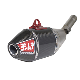 Yoshimura RS-4 Full System Exhaust - Titanium/Carbon Fiber - 2009 Honda CRF450R Yoshimura Oil Filler Plug - Red