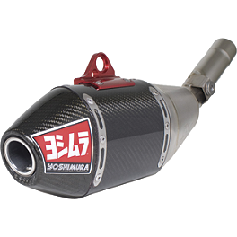 Yoshimura RS-4 Full System Exhaust - Titanium/Carbon Fiber - 2011 Honda CRF450R Yoshimura RS-4 Comp Series Slip-On Exhaust
