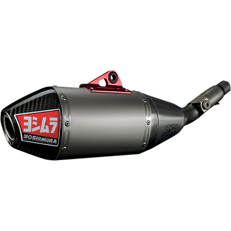 Yoshimura RS-4 Pro Series Full System Exhaust - Titanium/Carbon With Carbon Fiber End Cap - Main