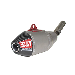 Yoshimura RS-4 Full System Exhaust - Titanium/Titanium - 2010 Honda CRF450R Yoshimura RS-4 Comp Series Slip-On Exhaust