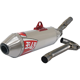 Yoshimura RS-2 Pro Series Full System Exhaust - Titanium - 2010 Yamaha YZ250F Yoshimura RS-4 Pro Series Full System Exhaust - Titanium/Carbon With Carbon Fiber End Cap