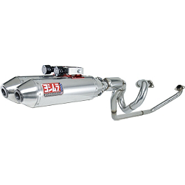 Yoshimura RS-2D Full System Exhaust - Stainless Steel - Two Brothers M-7 Complete Triple Exhaust