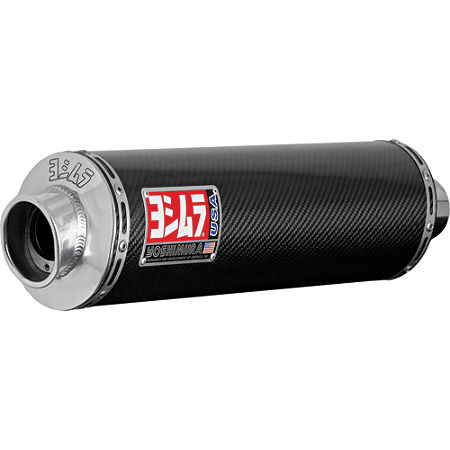 Yoshimura RS-3 Bolt-On Exhaust - Carbon Fiber - Main