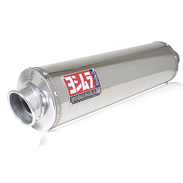 Yoshimura RS-3 Full System Exhaust - Stainless Steel Single Canister - Yoshimura TRS Full System Exhaust - Stainless Steel