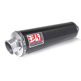 Yoshimura RS-3 Full System Exhaust - Carbon Fiber Single Canister - Yoshimura TRS Full System Exhaust - Stainless Steel