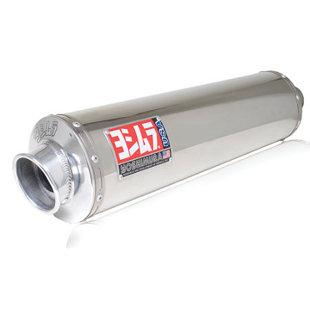 Yoshimura RS-3 Slip-On Exhaust - Stainless Steel - Main
