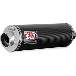 Yoshimura RS-3 Slip-On Exhaust - Carbon Fiber - Yoshimura TRS Slip-On Exhaust - Carbon Fiber