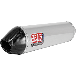 Yoshimura RS-3 Slip-On Exhaust - Stainless Steel With Carbon Fiber End Cap - Yoshimura RS-3 Full System Exhaust - Stainless Steel